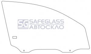 Боковое (передний салон) Chevrolet Aveo 3 (T250) (06 - 11)