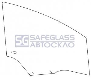 Боковое (передний салон) Citroen C4 (04 - 11)