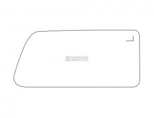 Боковое (задний салон) ВАЗ Нива 2121 (78 - 04)
