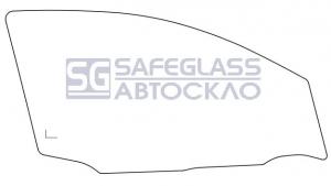 Переднее боковое Nissan Quashqai (07 - 13)