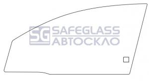 Боковое (передний салон) Opel Vectra C 4D (02 - 08)