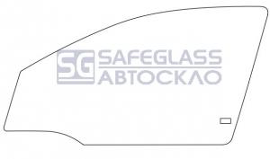 Переднее боковое Opel Astra G (98 - 04)