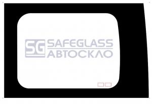 Боковое (задний салон) дверное (нестандарт) Renault Trafic (01 - 13)