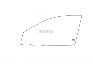Переднее боковое Toyota Corolla (02 - 06)