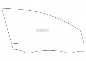 Переднее боковое Volkswagen Golf 6 (09 - 12)
