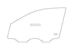 Переднее боковое Volkswagen Polo (01 - 09)