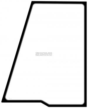 Бокове дверне верхнє ліве з шовкографією