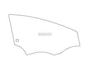 Переднее боковое SEAT Leon (05 - 12)