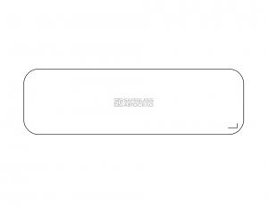 Заднее стекло КрАЗ 250 (78 - 92)
