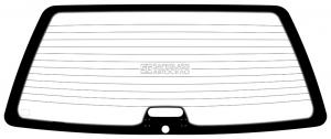 Заднее стекло Volkswagen Passat B3 (88 - 93)