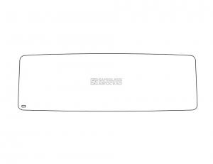 Лобовое стекло (сплошное) Евро КаМАЗ 53205 (00 - ...)