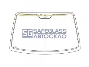 Лобовое стекло Chevrolet Lacetti (03 - 09)
