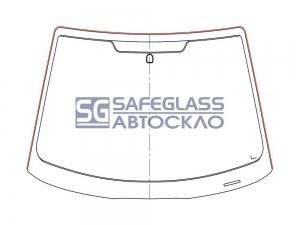 Лобовое стекло Ford Focus (98 - 06)