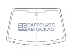Лобовое стекло FORD Fusion (02 - 12)