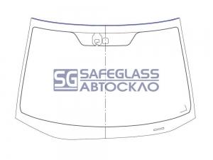 Лобовое стекло Honda CRV (07 - ...)