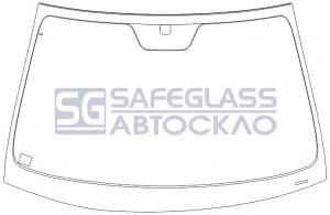 Лобовое стекло Hyundai Sonata (05 - 11)