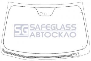 Лобовое стекло Hyundai Sonata (10 - ...)