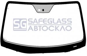 Лобовое стекло Hyundai IX 55 / Veracruz (007 - 12)