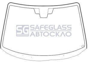 Лобовое стекло Mazda 3 (03 - 10)