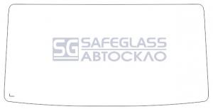 Лобовое стекло Mercedes Vario REX (86 - 96)