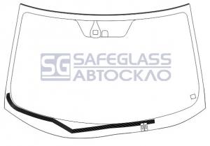 Лобовое стекло Mitsubishi Outlander XL (07 - 12)