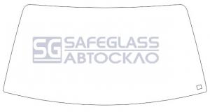 Лобовое стекло Opel Ascona (81 - 88)