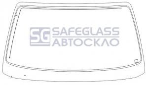 Лобовое стекло Opel Omega А (97 - 10)