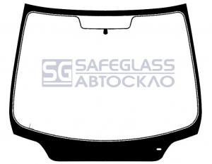 Лобовое стекло Peugeot 307 (01 - 07)