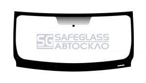 Лобовое стекло Renault Trafic (01 - 13)