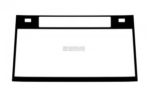 Лобовое стекло под информационное табло и габаритные огни БАЗ А081 (10 - ...)