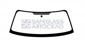 Лобовое стекло Subaru Forester (02 - 08)