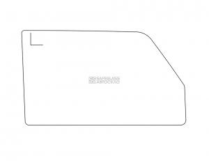 Боковое (передний салон) ВАЗ 2105, 2104, 2107 (76 - 91)