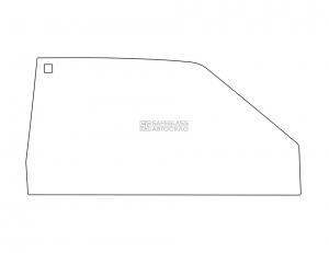 Боковое (передний салон) ВАЗ 2108 (86 - 91)