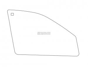 Боковое (передний салон) ВАЗ 1118 Калина (06 - 11)