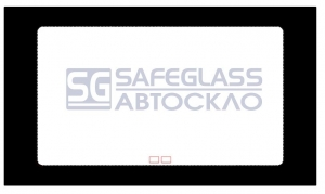 Боковое (передний салон) (заводская тонировка) Mercedes Sprinter (95 - 06)