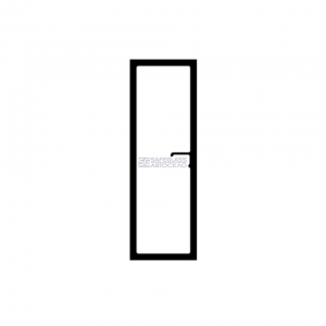 Боковое стекло (дверное) с квадратным отверстием под ручки КрАЗ 250 (78 - 92)