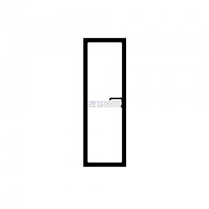 Боковое стекло с квадратным отверстием под ручки Лаз А-183 (04 - ...)