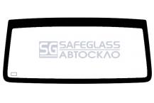 Заднее стекло (без стопа) Mercedes Vito (96 - 03)