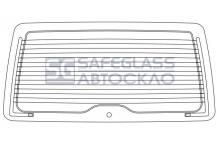 Заднее стекло Opel Combo (01 - 12)