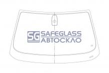 Лобовое стекло BMW 5 E60 (03 - 09)