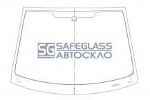 Лобовое стекло Ford Fiesta МК V 5 D (02 - 08)