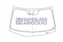Лобовое стекло Honda Accord (08 - 12)