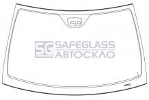 Лобовое стекло Mercedes W203 (00 - 07)