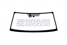 Лобовое стекло Mitsubishi L 200 (08 - ...)