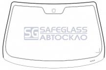 Лобовое стекло Nissan Micra K12 (02 - 10)