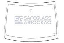Лобовое стекло Opel Combo (01 - 12)
