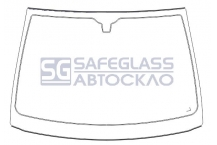 Лобовое стекло Opel Corsa C (00 - 06)