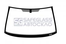 Лобовое стекло Opel Corsa D (06 - 14)