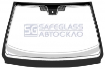 Лобовое стекло Peugeot 607 4D (00 - 08)