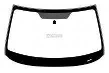 Лобовое стекло Subaru Forester (08 - 12)
